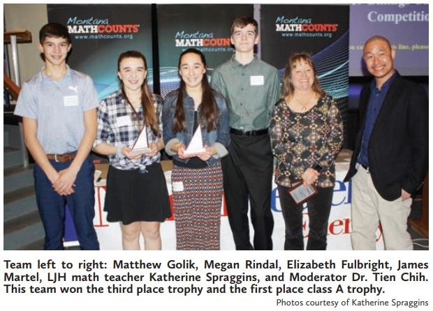 2019 Math Counts Team