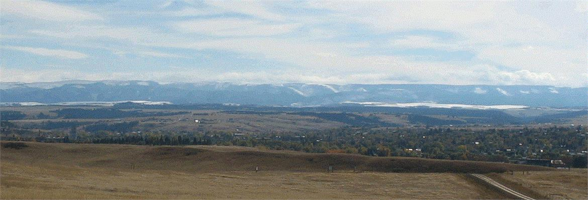 Snowy Mountains from Lewistown