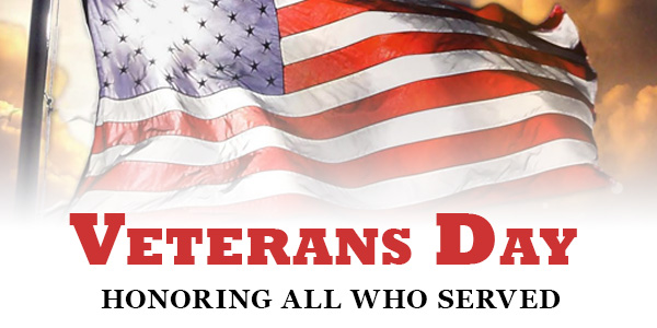 Veteran's Day - Honoring All Who Served
